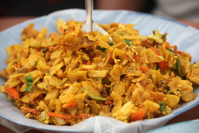 how to make noodles kottu